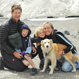 Spark founder, Tamara Vukusic with family